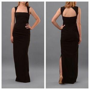 Nicole Miller felicity gown black 4